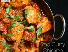 Red Curry Chicken - Paleohacks