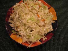 Awesome German Coleslaw - vinegar base with celery seed.