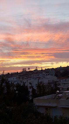 Sunset in Rhodes 😍😍😍