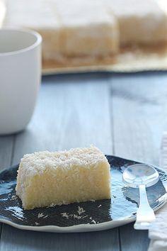 Pastís de sèmola i coco