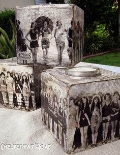 How to DIY Photo Transfer to Wood is a great way to make your memories last in an on-trend and unique way. Display your photos on different types of wood to… Photo On Wood, Picture On Wood, Picture Cube, Diy Photo, Photo Craft, Picture Transfer To Wood, Foto Transfer, Deco Originale, Photo Blocks