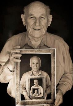 What a great 4 generation photo idea!