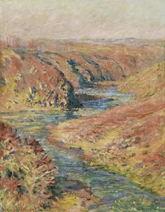 (via All sizes | 1889 Claude Monet Valley of the Creuse at Fresselines(private collection)(81 x 65 cm) | Flickr - Photo Sharing!)