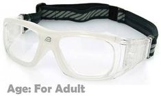 0cb3fd576724c  Adults  Sports Goggles BL019 Clear (Prescription Rx Lenses Available)