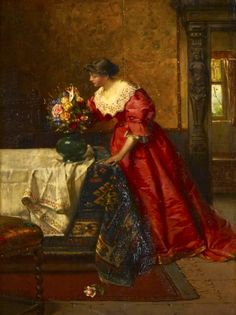 Marcus Stone   THE LOVE LETTER