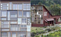 Arquiteto japonês constrói casa apenas com materiais descartados