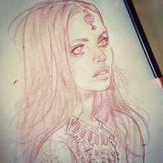 Todays #portraitdrawing #portraitsketch #portrait #pencilsketching #pencildrawing #sketch dook... keep on keepin on!