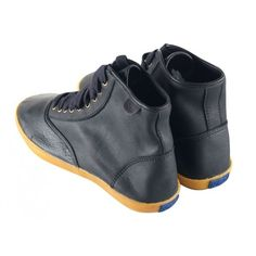 Womens KEDS Champion Hi Black Leather Sneakers Size US 6.5 UK 4  EU 37 $ 70 #Keds #FashionSneakers