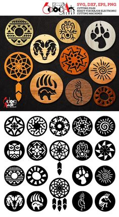 I give to you personally what was promised, but a lot better; I've created the checklist from the buy of the bottom cost to the higher price tag range! Native American Patterns, Native American Symbols, Native American Design, Vinyle Cricut, Jewelry Design Drawing, Wood Carving Patterns, Native Art, Designs To Draw, Nativity