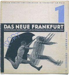 Das Neue Frankfurt magazine, January 1930