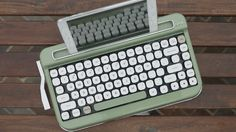 Elretron launches a wireless Bluetooth keyboard, named PENNA, with a vintage typewriter spin, and despite its retro look, it's anything but antiquated.
