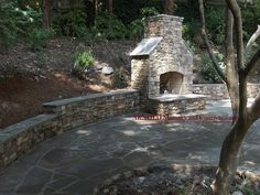 Fireplace Patio Retaining Walls #fireplace_patio_retaining_walls