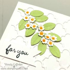 Stamping Rules!: Day 125: For You Card