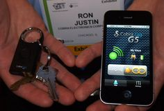Tag and find your lost things with the Cobra Tag G5 #apps #cars