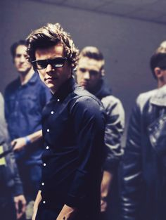 Harry in some parts of rock me music video