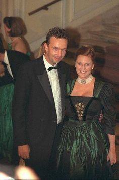 The Archduke Karl and Archduchess Francesca of Austria, 18 Apr 1997