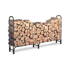#Ebay Firewood Log Rack Outdoor Storage Holder Firewoods Garden Steel Organizer Yard #Landmann