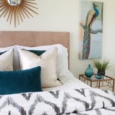 West Elm The guest bedroom is ready for guests! #ontheblog @westelm #mywestelm