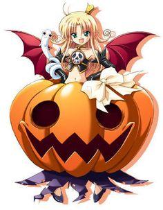 Arigato Magazine – Anime y Cultura Pop Japonesa Anime Halloween, Halloween Images, Happy Halloween, Anime Witch, Cultura Pop, Halloween History, Glitter Graphics, Manga, Fantasy Girl