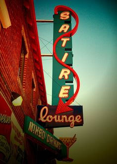 The Satire Lounge found on East Colfax in Denver