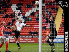 Super Johnny's goal against Charlton London Football, Derby County, Goals, Club, Image
