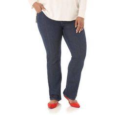 Riders by Lee Womens' Plus-Size Slender Stretch Bootcut Jean, Women's, Size: 20WM, Blue