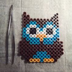 Owl perler beads by skipper606