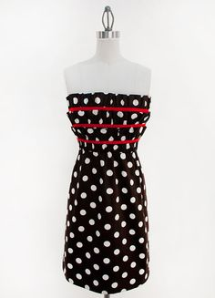 Black & Red Polka Dot   Judith March
