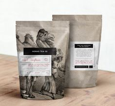 Nomad Tea Co. on Packaging of the World - Creative Package Design Gallery
