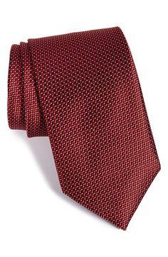 Men's J.Z. Richards Geometric Woven Silk Tie