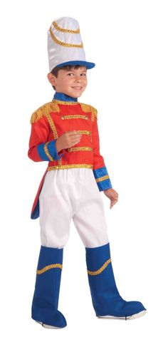 Child's Deluxe Toy Soldier Costume
