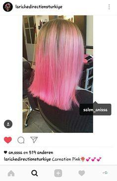 @larichedirectionsturkiye shared our pink hair 🍭🍦makeover on their Instagram 💞😆 #goals #pinkhair #pinkhairdontcare #carnationpink #directionshairdye #directionshair #hairsalon #hairdresser #hairstylist #hairdo #hairstyling #hairtreatment #smoothhair #lovelyhair #amazinghair #beautifulhair #perfecthair #coloredhair #haircolor #colorfulhair #newhaircolor #hairinspiration #haironpoint #hairgoals #dyedhair #kapsalonanissa #leeuwarden #instagram #repost