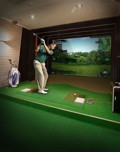 Golf Simulator and indoor Driving Range