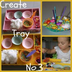 Four Little Piglets: CREATE TRAY NO.3 RAINBOW RICE CAKES