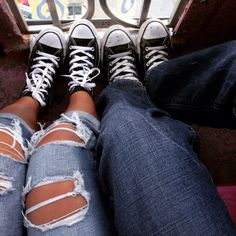 Matching converses with my baby