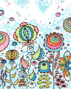 Candy -    ETSY Shop  yellena  Prints and originals by Yellena James