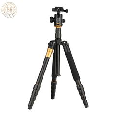 67.20$  Watch here - http://aliyza.worldwells.pw/go.php?t=32584847327 - QZSD Q666 Pro Portable Tripod monopod  Aluminium Alloy Q-666 For SLR Camera Traveling Load To 15kg Free Shipping 67.20$