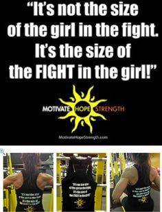 LOVE THIS TANK at: http://hopenagy.com/motivatehopestrength___hope_nagy/Tanks&Tees.html #fitness #motivation