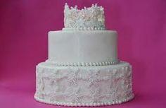 #cake #white #crown