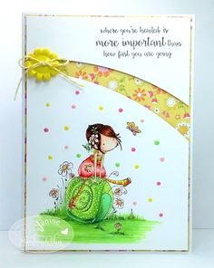 Crafting Crackers: Handmade Bliss Inspiration Card - New Stamping Bella