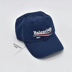 matt fabric lowercase letter ball cap Balenciaga² embroidery baseball cap white