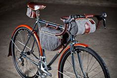 Tanner Goods Edition – Cielo Cycles (Pricing: $2,895 Includes frame, fork, bags and fenders.)