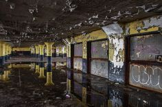 detroit abandoned buildings - Google Search
