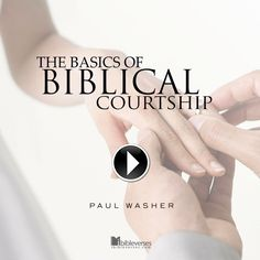Paul Washer talks about relationships and what a biblical marriage is all about...Watch The Video at http://ibibleverses.christianpost.com/?p=15240  #video #marriage #courtship