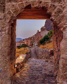 .Monemvasía, Greece