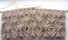 Beautiful pattern knitting needles from Lilia Stepanova. Discussion on LiveInternet - Russian Online Diaries Service Lace Knitting Patterns, Knitting Stiches, Knitting Charts, Knitting Designs, Knitting Needles, Knitting Projects, Crochet Stitches, Baby Knitting, Stitch Patterns