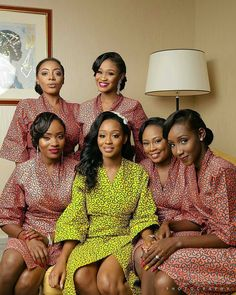 Check out over 500 stunning and Enchanting Ankara styles. Take a good look at them and start adding some to your collections. Loads of looks to choose from your favourite below Traditional Wedding Attire, African Traditional Wedding, Brides And Bridesmaids, Bridesmaid Dresses, Bridemaids Robes, Backyard Wedding Dresses, Bridal Party Robes, Bridal Parties, African Wedding Dress