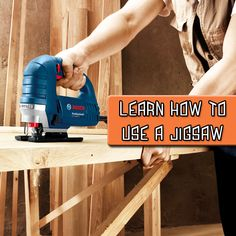 How to use a Jigsaw Power Tools, Being Used, Learning, Website Link, Diy, Electrical Tools, Bricolage, Studying, Do It Yourself