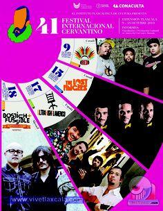 41 Festival Internacional Cervantino, Sede Tlaxcala 2013