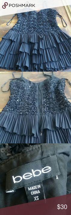 BEBE LBD Little black dress of BEBE'S brand. Size XS. Bebe Dresses Mini